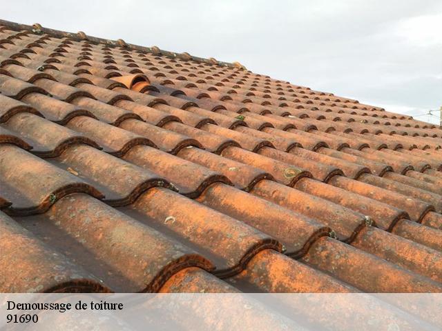 Démoussage de toiture à Saint Cyr La Riviere tél :01.85.53.42.03
